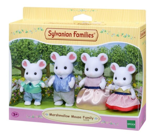 SF Marshmallow Mouse Family Yes Vi Leker!